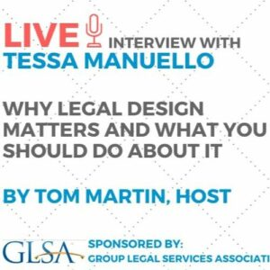 The LawDroid Podcast, sponsored by GLSA.org: Why Legal Design Matters and What You Should Do About It with Tessa Manuello and Tom Martin